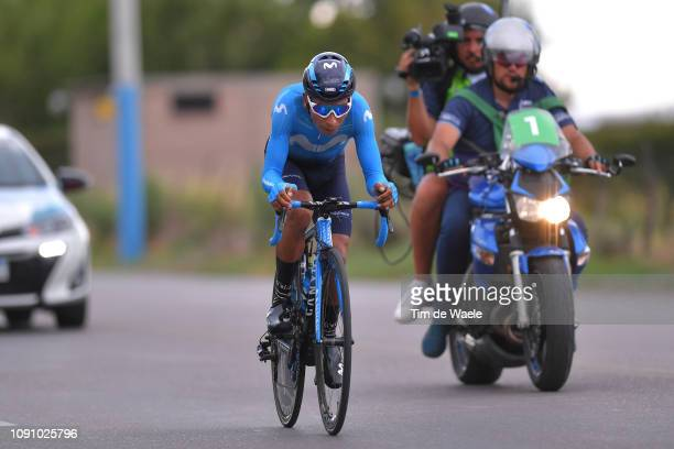Nairo Quintana of Colombia and Movistar Team / during the 37th Tour of San Juan 2019, Stage 3 a 12km Individual Time Trial stage from Pocito to...