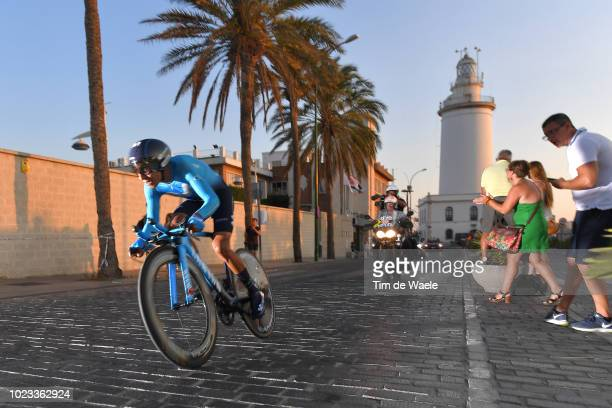 Nairo Quintana of Colombia and Movistar Team / Lighthouse / during the 73rd Tour of Spain 2018 Stage 1 a 8km Individual Time Trial from Malaga to...