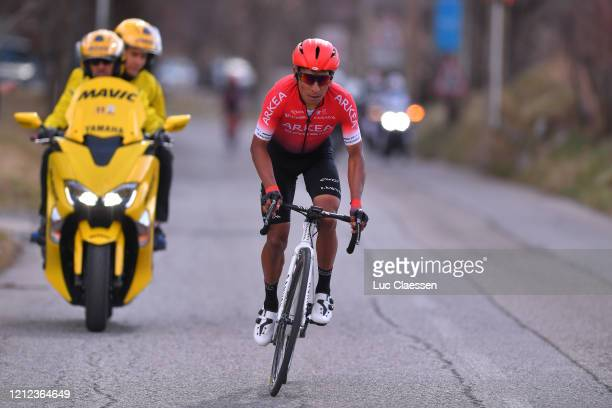 Nairo Quintana of Colombia and Team Arkea - Samsic / during the 78th Paris - Nice 2020 - Stage 7 a 166,5km stage from Nice to Valdeblore La Colmiane...