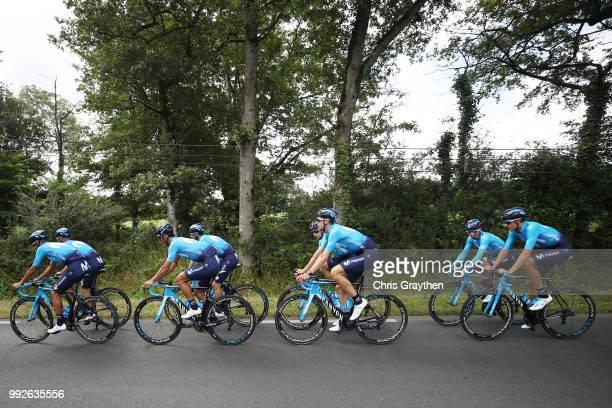 Nairo Quintana of Colombia / Andrey Amador of Costa Rica / Daniele Bennati of Italy / Imanol Erviti of Spain / Mikel Landa of Spain / Jose Joaquin...