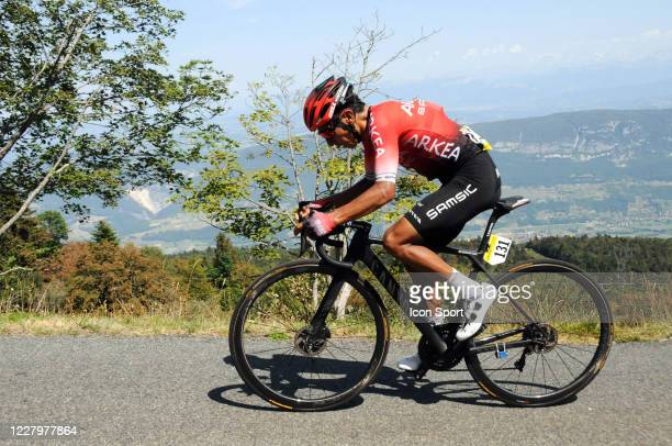 Nairo Quintana of Team Arkea - Samsic. During the Tour de l'Ain - stage 3 from Saint Vulbas to Grand Colombier on August 9, 2020 in UNSPECIFIED,...