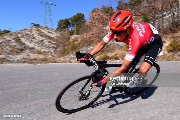 Nairo Quintana Rojas of Colombia and Team Arkéa - Samsic during the 53rd Tour Des Alpes Maritimes Et Du Var, Stage 3 a 134,7km stage from Blausasc to...