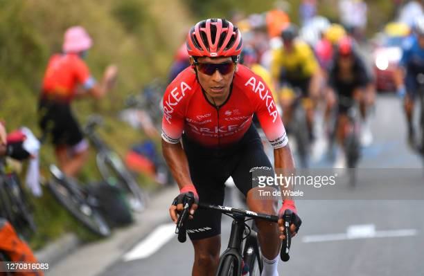 Nairo Quintana Rojas of Colombia and Team Arkea - Samsic / during the 107th Tour de France 2020, Stage 8 a 141km stage from Cazères-Sur-Garonne to...