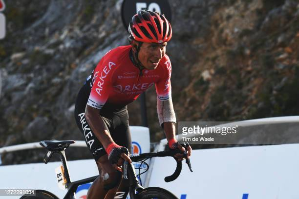 Nairo Quintana Rojas of Colombia and Team Arkea - Samsic / Grand Colombier / during the 107th Tour de France 2020, Stage 15 a 174,5km stage from Lyon...