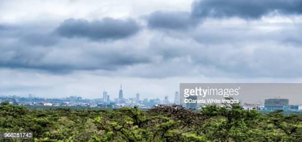 nairobi citiscape - nairobi stock pictures, royalty-free photos & images