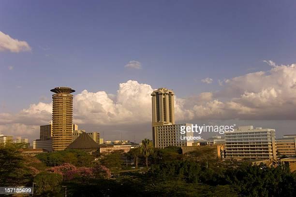 Nairobi city aerial