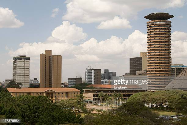 nairobi city aerial - nairobi stock pictures, royalty-free photos & images