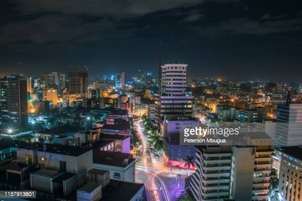 nairobi nightlife - nairobi stock pictures, royalty-free photos & images