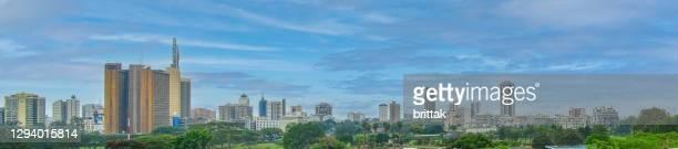 2009 nairobi panorama - nairobi stock pictures, royalty-free photos & images