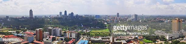 Nairobi skyline, Cityscape