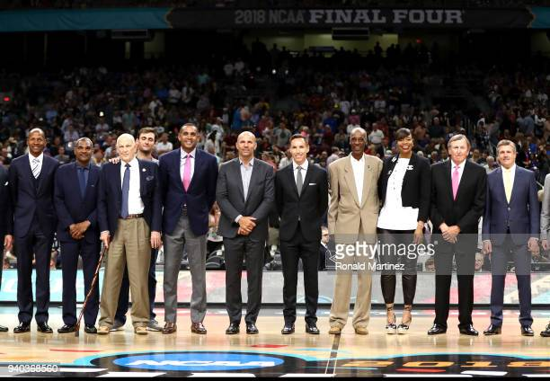 Naismith Hall of Fame inductees Ray Allen Maurice Cheeks Lefty Driesell Grant Hill Jason Kidd Steve Nash Charlie Scott Tina Thompson Rod Thorn and...
