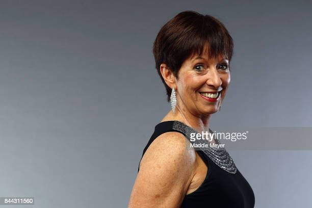 Naismith Memorial Basketball Hall of Fame Class of 2017 enshrinee Muffet McGraw poses for a portrait at the Naismith Memorial Basketball Hall of Fame...