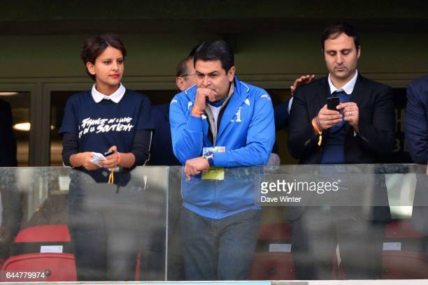 Najat VALLAUD BELKACEM / Juan ORLANDO HERNANDEZ - - France / Honduras - Coupe du Monde 2014 , Photo : Dave Winter / Icon Sport