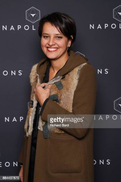 Najat VallaudBelkacem attends the Introductory Session To The 7th Summit Of Les Napoleons at Maison de la Radio on December 2 2017 in Paris France