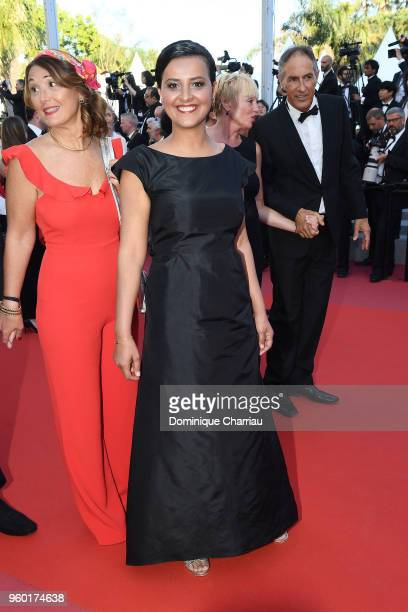Najat VallaudBelkacem attends the screening of Closing Ceremony The Man Who Killed Don Quixote during the 71st annual Cannes Film Festival at Palais...