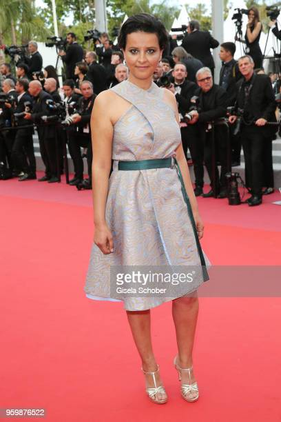 Najat VallaudBelkacem attends the screening of The Wild Pear Tree during the 71st annual Cannes Film Festival at Palais des Festivals on May 18 2018...