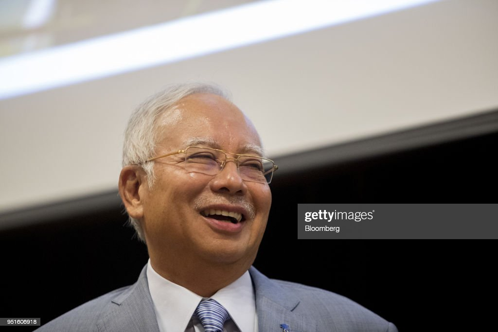 Malaysia Prime Minister Najib Razak Attends the Launch of the National Cancer Institute