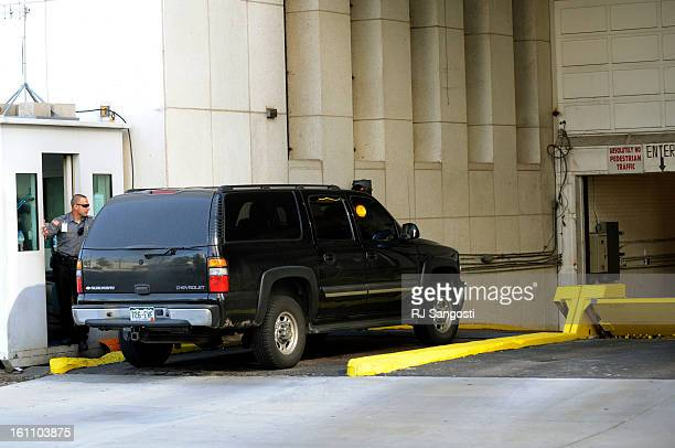 KAZI18 Najibullah Zazi arrives at the FBI Denver headquarters in downtown Denver Zazi was asked to meet again for the third day with the FBI on...