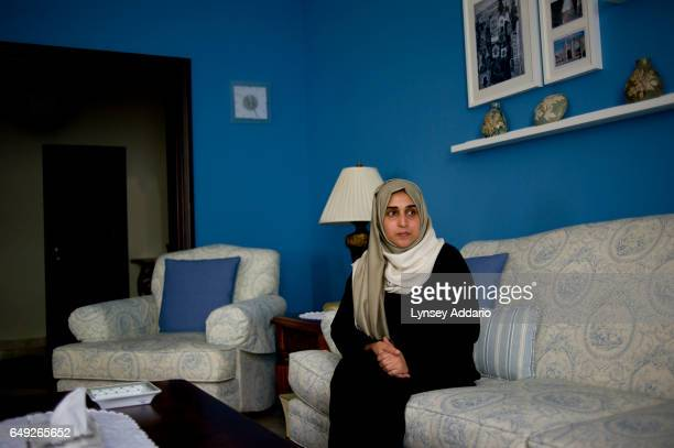 Najla Hariri an unassuming housewife in Jeddah on the countrys west coast is interviewed in her home in Jeddah Saudi Arabia June 15 2011 Najla's...