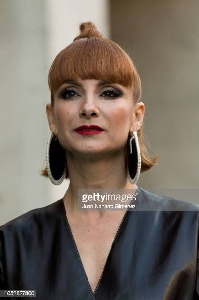 Najwa Nimri attends 'Day of Spain Gala' at Calderon Theater during 63rd Seminci International Film Week of Valladolid on October 23 2018 in...