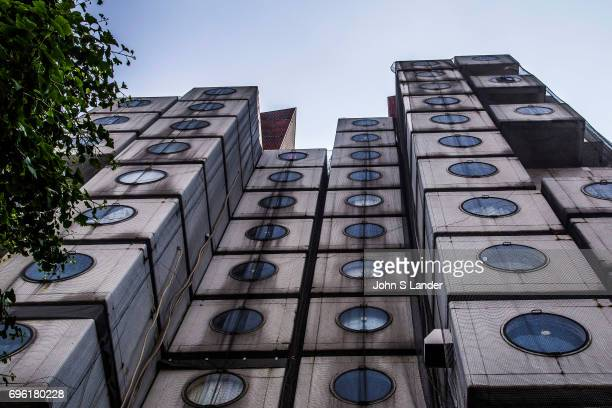 Nakagin Capsule Tower is both a residential and office tower designed by architect Kisho Kurokawa in Tokyo Built in 1972 the building is an example...