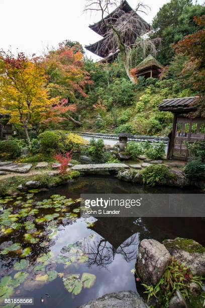 Nakanobu Koguen Garden Taimadera Taimadera contains two famous gardens the main one being the Pure Land austere garden at Okunoin at the back of the...