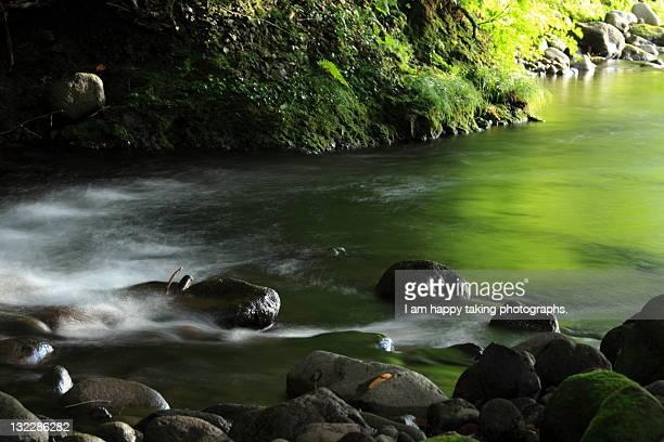 Nakanosawa river