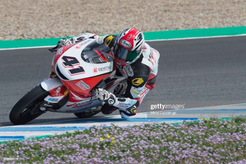 Moto2 & Moto3 Tests In Jerez