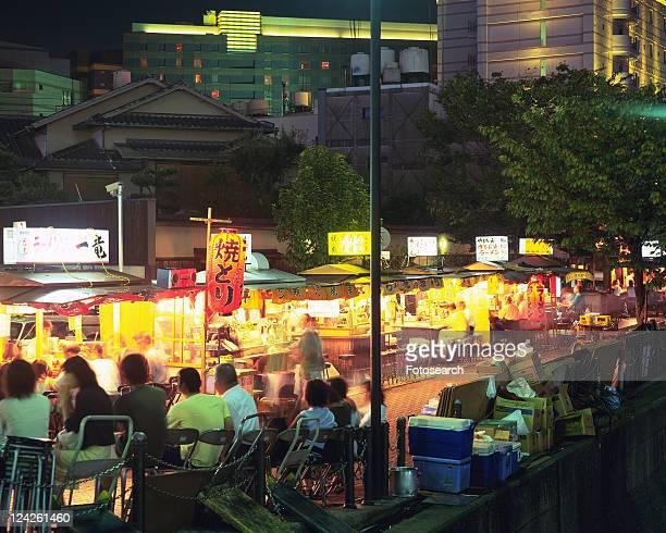 Nakasuyatai in Fukuoka