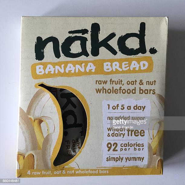 Nakd banana bread health bars
