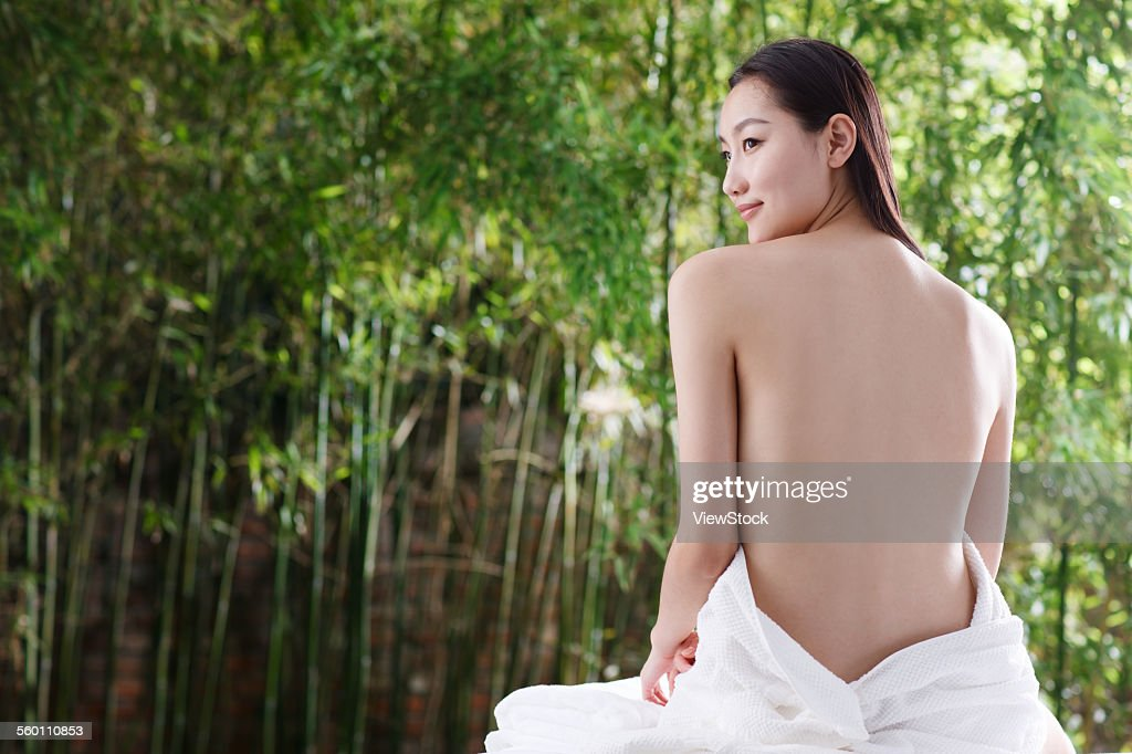 naked woman outdoors