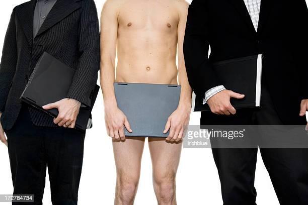 Naked Businessman