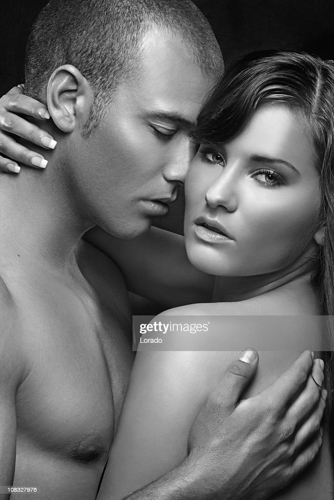 Man and woman have sexy