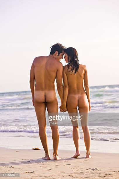 naked pareja - chico desnudo cuerpo entero fotografías e imágenes de stock