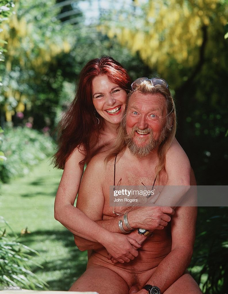 Naked Gardeners Ian And Barbara Pollard Tend To Their Gardens At Home In  Marlborough During June