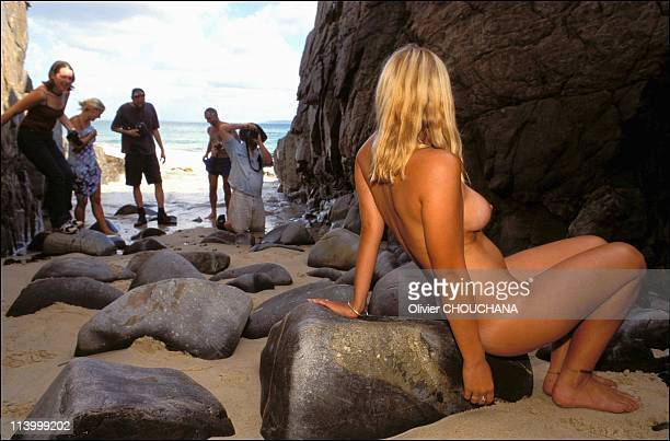 Naked Girls Photo Safari in Noosa Australia in 2003The last refuge Water erases tracks as every prey knows But the hunters know it as well