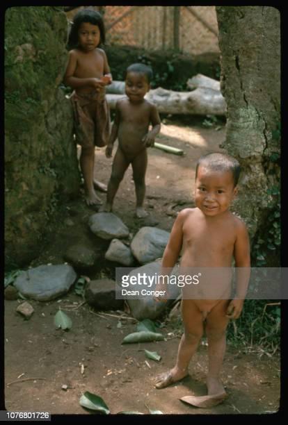 Naked Little Boys in Bali