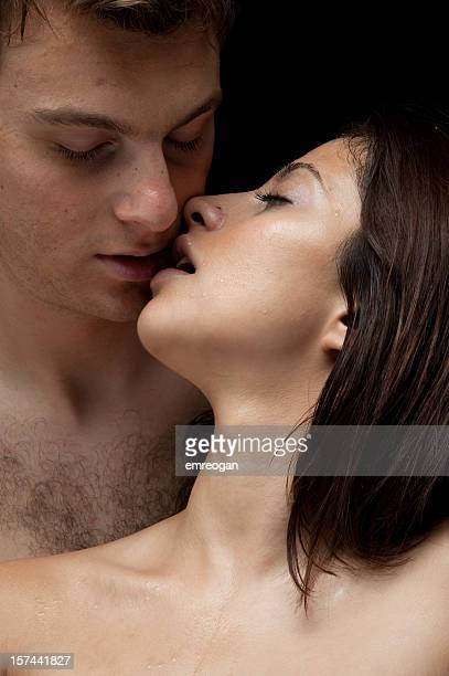naked Man and Woman in love