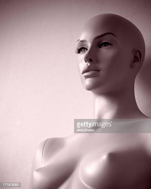 Naked mannequin