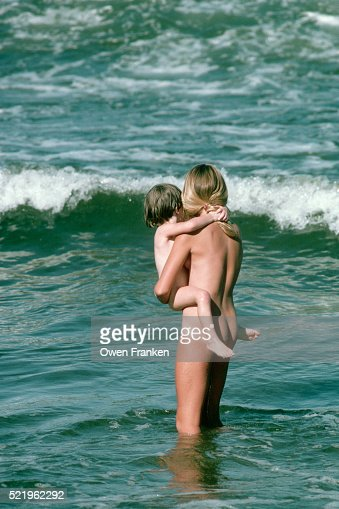 Naked Mother And Child At A Nude Beach Stock Photo  Getty -5729