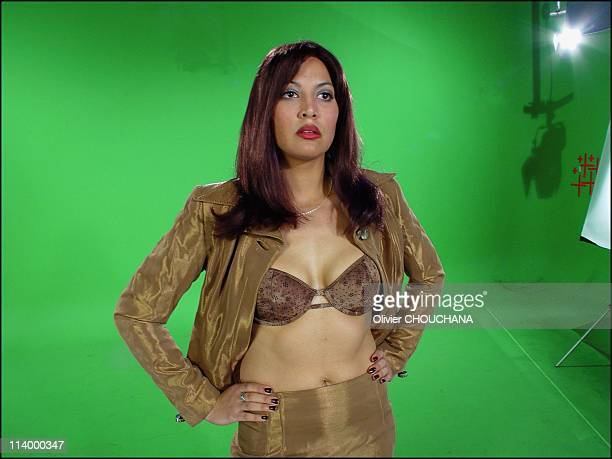 Naked News the bare facts of news in Canada in 2003After Lily the Asian host Victoria the American jost here comes April Torres the Latina Naked News...