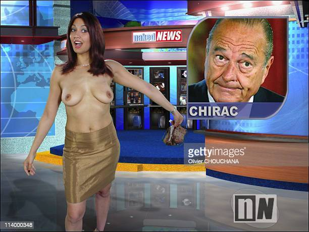 Naked News the bare facts of news in Canada in 2003Every new topic sees April dropping a garment A perfectly timed procedure