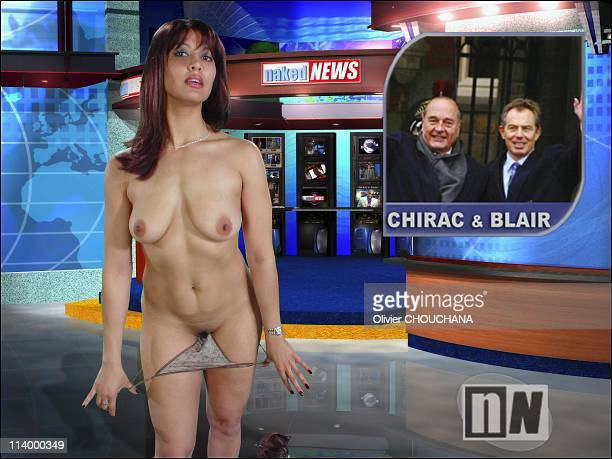 Naked News The Bare Facts Of News In Canada In 2003the Hosts Of Naked News End