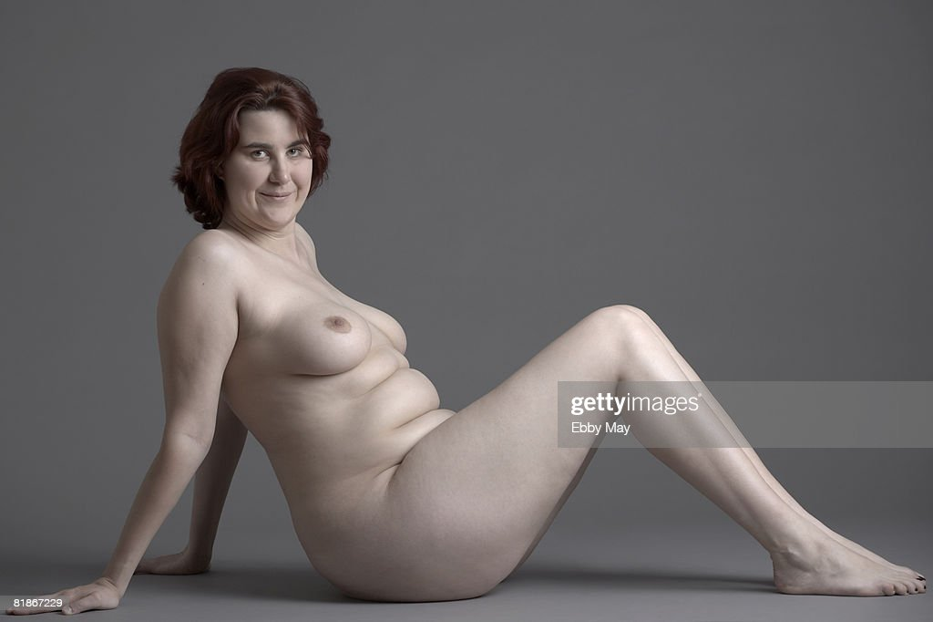 Naked woman : Foto de stock
