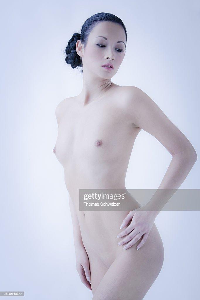 Naked woman portrait