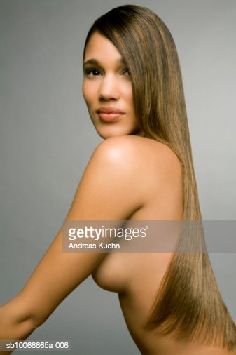 Naked With Long Hair