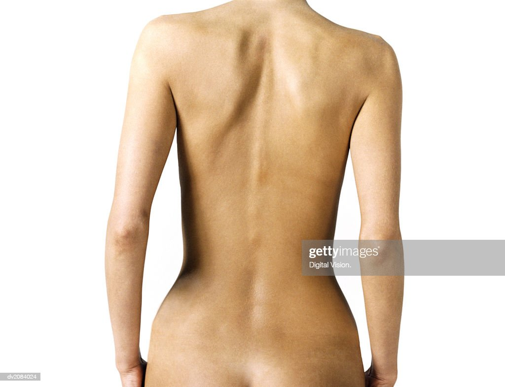 Naked Woman's Back : Stock Photo