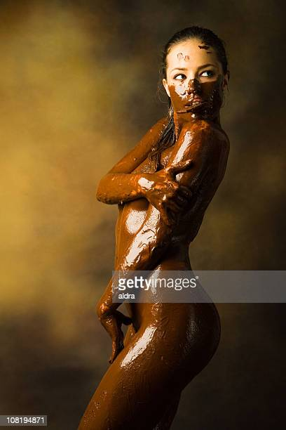 Women covered in chocolate nude, norwegin women nude