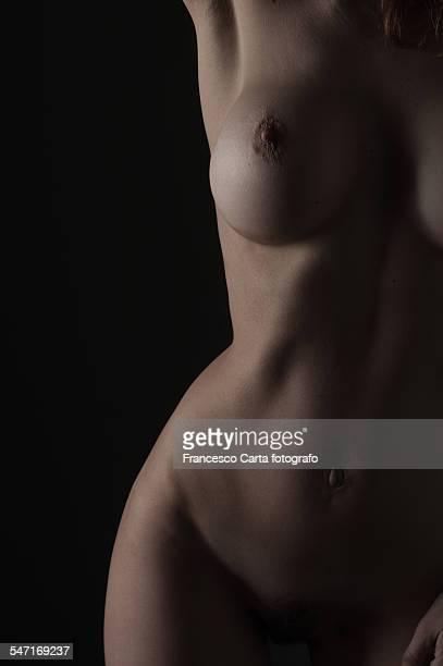 naked young woman - genitales femeninos fotografías e imágenes de stock