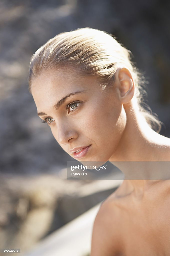 Naked Young Woman : Stock Photo